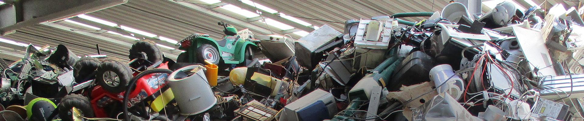 RELUX Umwelt Recycling und Entsorgung Elektroschrott