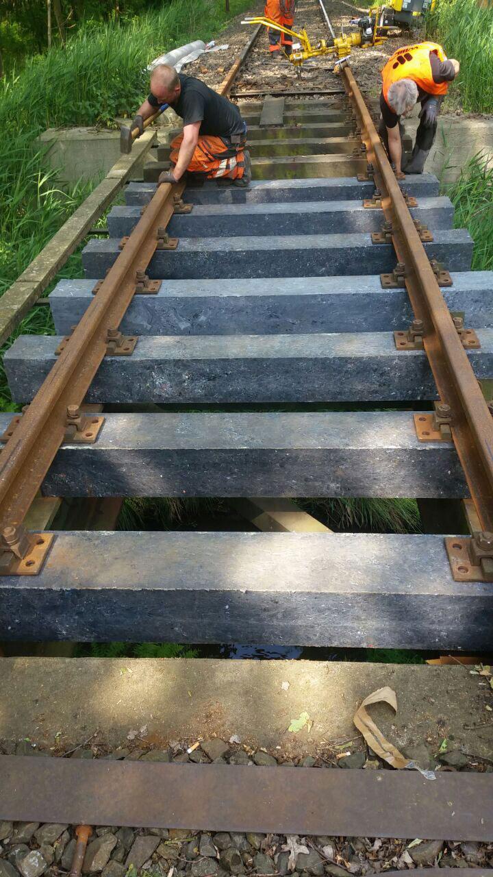 RELUX Umwelt Recycling und Entsorgung Bahnschwelle